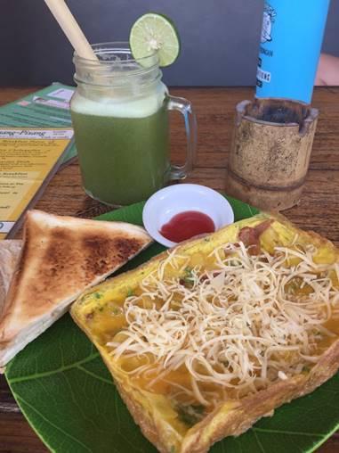 Delicious Breakfast in Bali