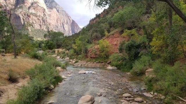 Zion National Park, Utah with the Virgin River