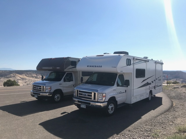 Our two RVs