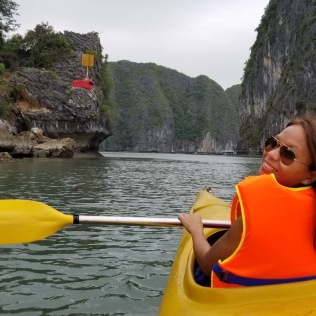 Kayaking in Ha Long Bay - Vietnam