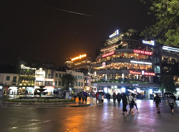 Downtown Sapa at night - Vietnam