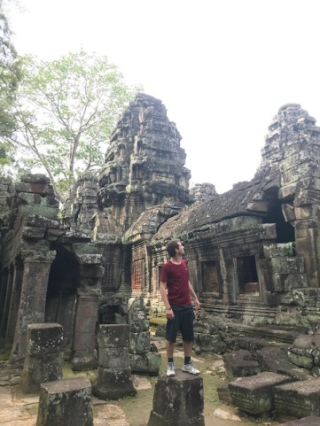 The ruins among the Banteay Kdei temple
