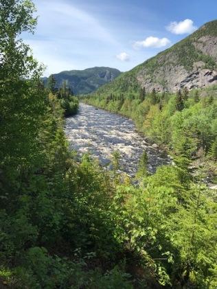 The Hautes-Gorges national park - The Riverain view